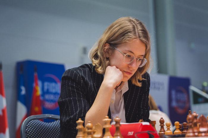Шахматистка из Греции Ставрула Цолакиду (греч. Σταυρούλα Τσολακίδου)
