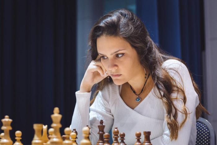 Шахматистка из Сербии Теодора Иньяц