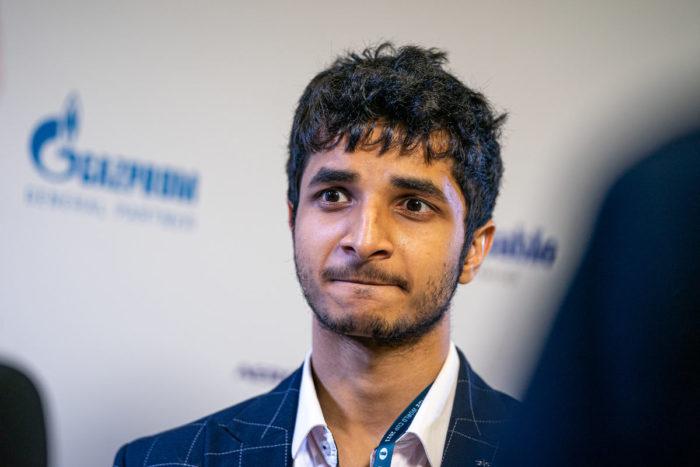 Видит Сантош Гуджрати шахматист из Индии. Кубок мира ФИДЕ по шахматам 2021, Сочи