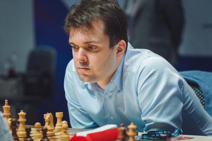 Гроссмейстер из России Владимир Федосеев (Кубок мира ФИДЕ 2021, Сочи 2021)
