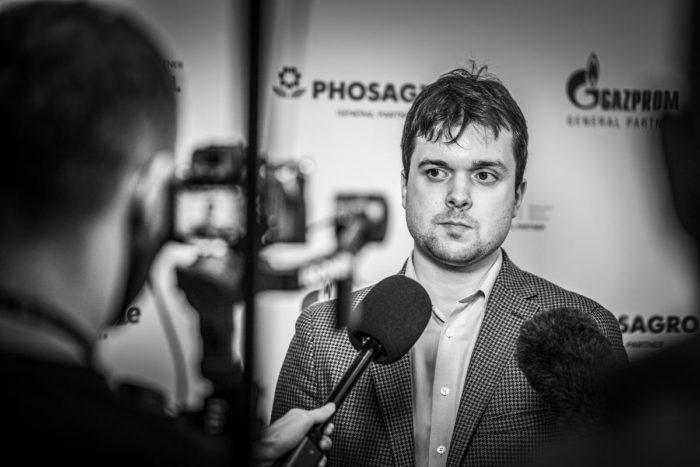Шахматист Владимир Федосеев (Россия). Кубок мира по шахматам 2021, Сочи