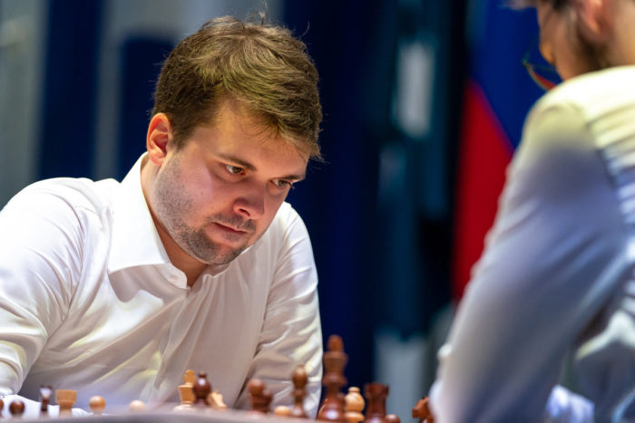 Шахматист Владимир Федосеев на Кубке мира по шахматам 2021 в Сочи