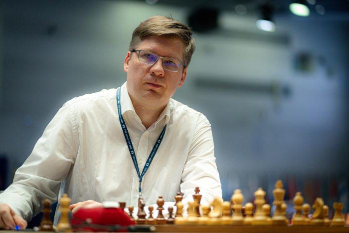Шахматист Владимир Малахов