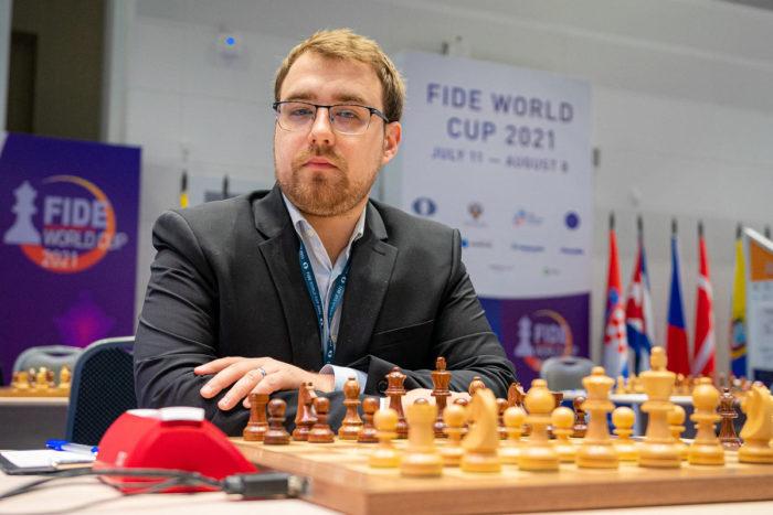 Ярослав Жеребух на Кубке мира 2021 по шахматам в Сочи