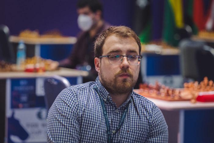 Шахматист Ярослав Жеребух
