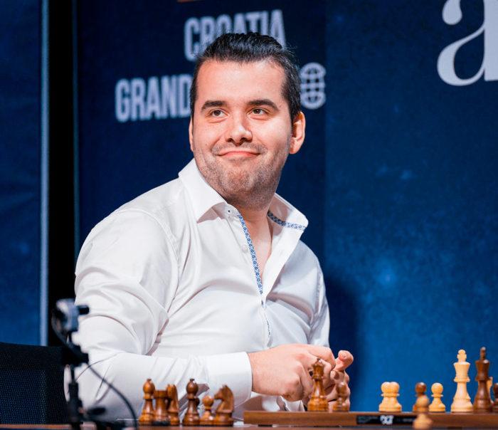 Непомнящий после поражения от Мамедъярова. Шахматный турнир по рапиду и блицу Загреб 2021