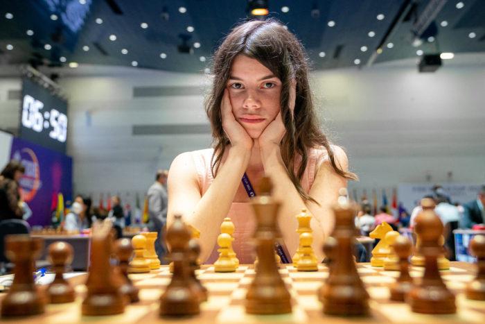 Шахматистка Юлия Осьмак