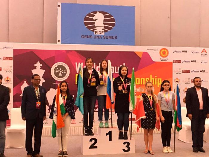 Лея Гарифуллина - чемпионка мира! (Индия, 2019)