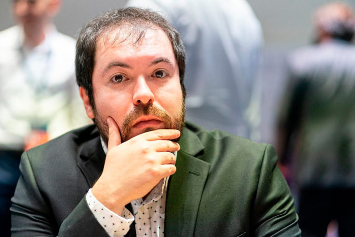 Чилийский шахматист Пабло Салинас Эррера