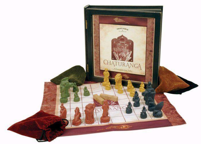 Чатуранга для четырёх игроков - прообраз современных шахмат