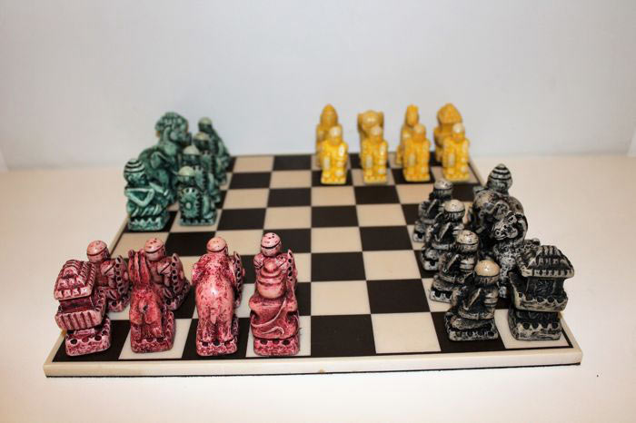 Игра Чатуранга на 4 человек