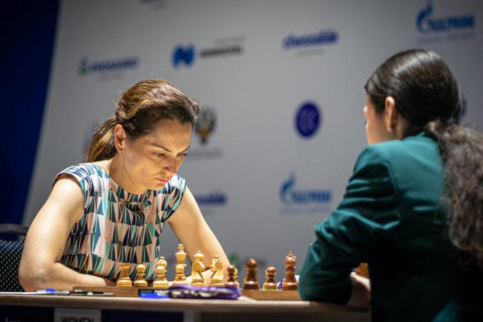 У Александры Костенюк была относительно простая задача - не проиграть белыми