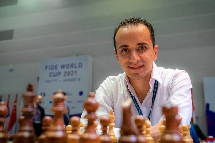 Египетский шахматист Бассем Амин