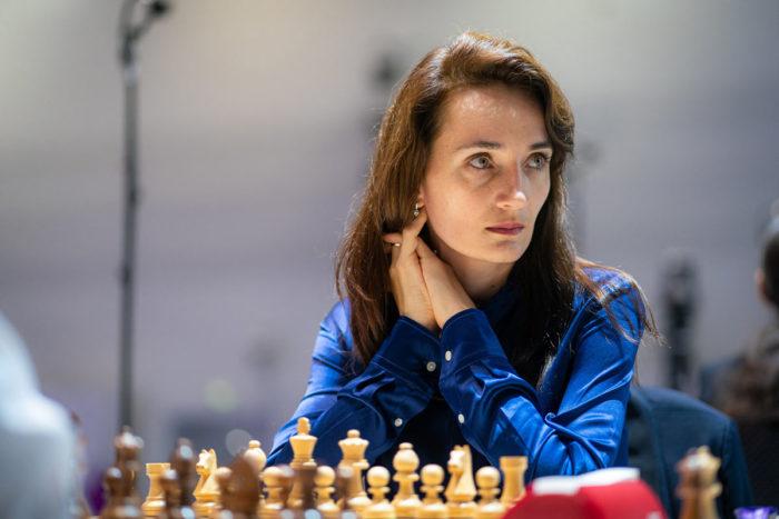 Шахматистка Екатерина Лагно