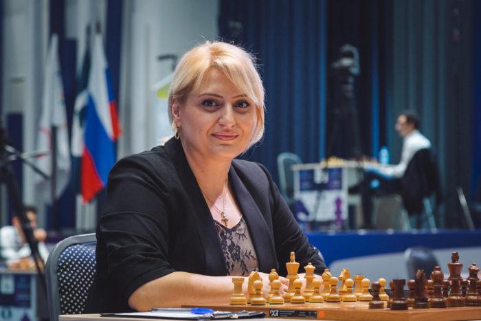 Шахматистка Элина Даниелян