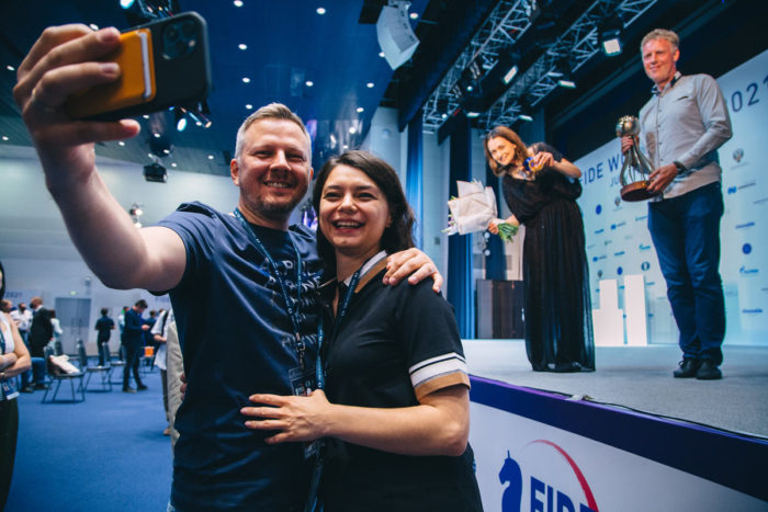Оксана Костенюк очень рада победе старшей сестры