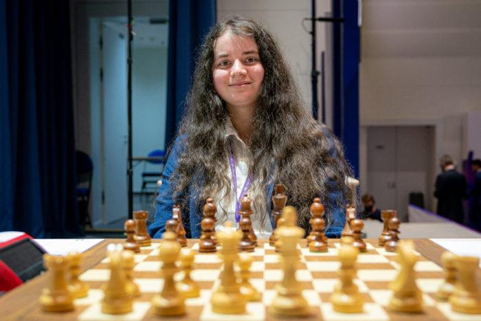 Австралийская шахматистка Пенелопа Драстик