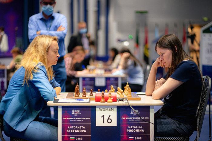 Антоанета Стефанова и Наталья Погонина на Кубке мира 2021 среди женщин (Сочи)