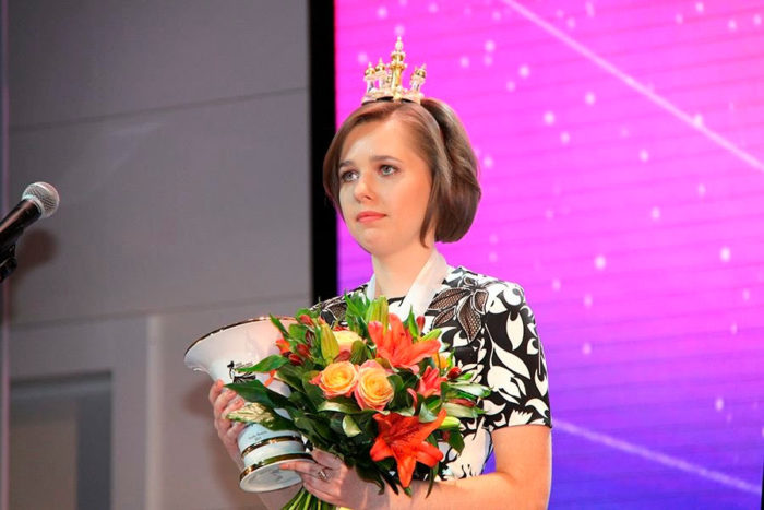 Мария Музычук - пятнадцатая чемпионка мира по шахматам (Сочи, 2015)