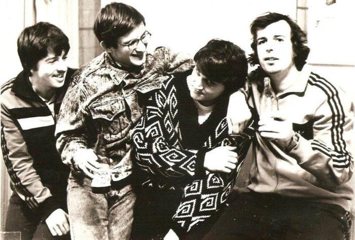 Слева направо: Юрий Писков, Михаил Красенков, Юрий Дохоян, Сергей (Кишнёв, 1988)