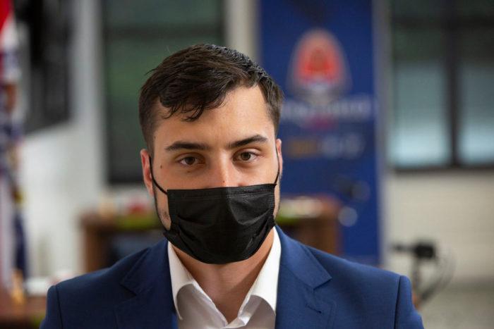 Шахматист Дариуш Сверч (Сент-Луис, 2021)