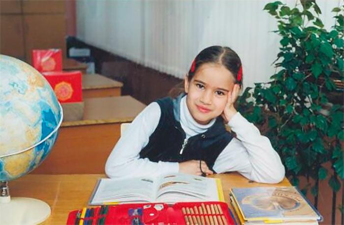 Детское фото Алины | Фотография с сайта Алины Кашлинской