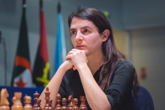 Французская шахматистка Полин Гишар (фр. Pauline Guichard)
