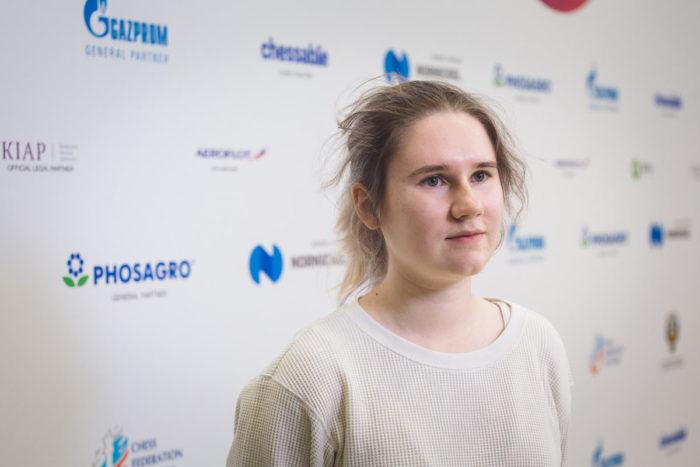 Шахматистка Полина Шувалова
