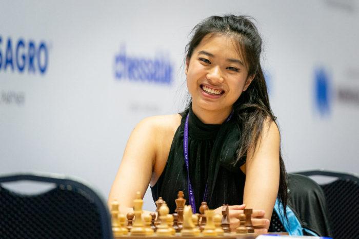 Канадская шахматистка Циюй Чжоу (англ. Qiyu Zhou)