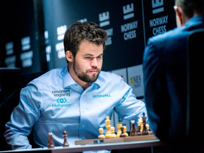 Магнус Карлсен возглавил турнирную таблицу Norway Chess 2021