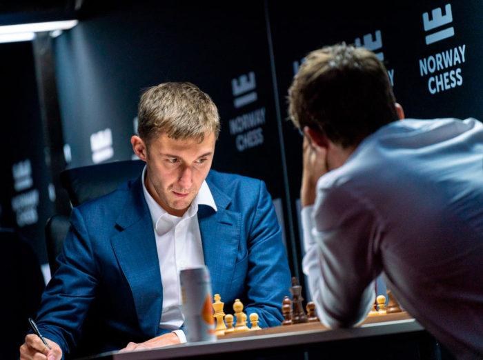 Ставангер 2021. Шахматист Сергей Карякин
