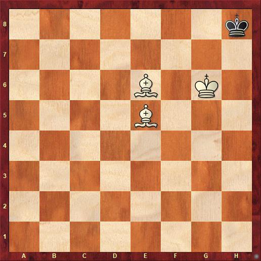 Мат двумя слонами и королем в шахматах