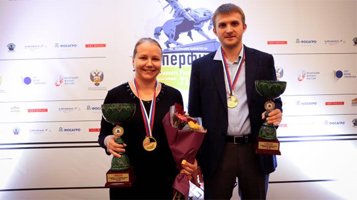 Витюгов и Гинина - чемпионы России по шахматам 2021