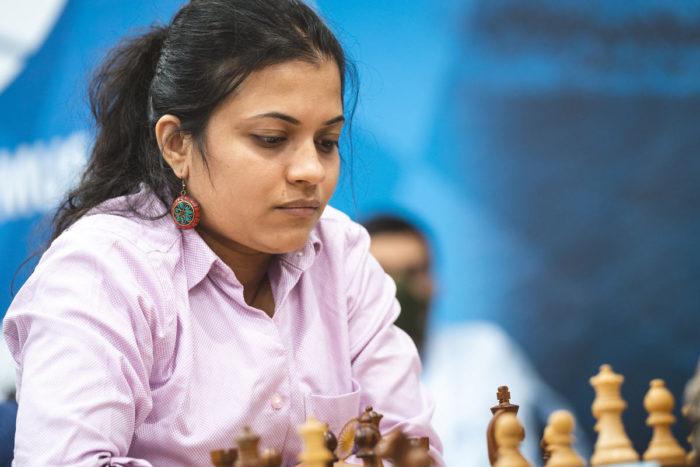 Индийская шахматистка Бхакти Кулкарни