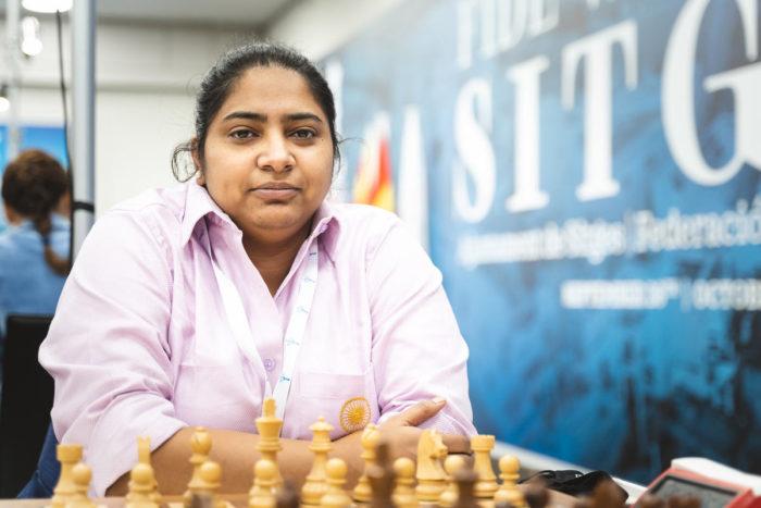 Индийская шахматистка Мари Анн Гомес