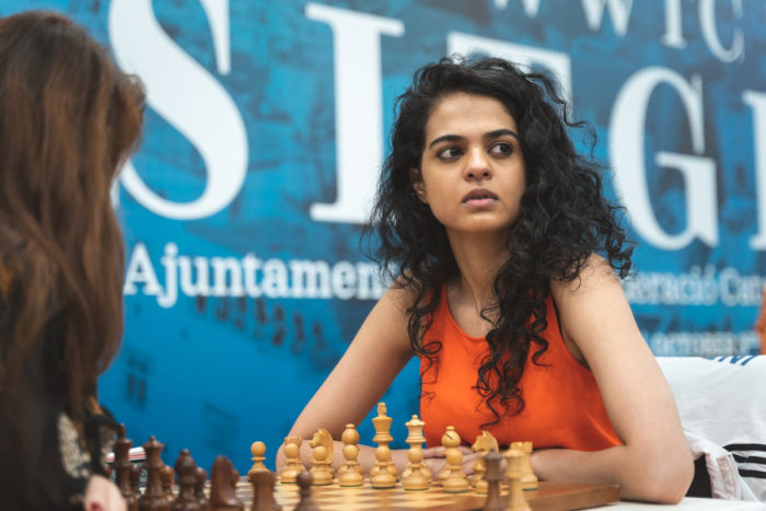 Индийская шахматистка Таня Сачдев